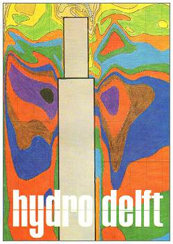 HIJDRO DELFT - no. 41 - nov 1975 - cover -