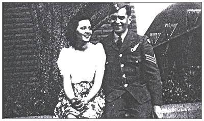 Sergeant - John Bonser Browne with sister or girlfriend