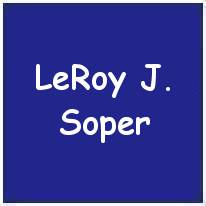R/116639 - Sgt. - Rear Air Gunner - LeRoy John Soper - RCAF - POW - interned in Camp 344 POW No. 27058