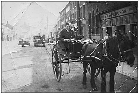 Les in Scotland on a buggy - via Myrtle Wooldridge (niece)