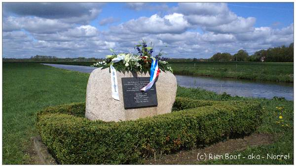 B-24 Memorial - at crash location near Lheebroek