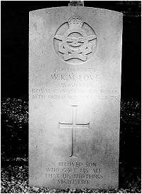 P/O. William Kilworthy Murray Love - RCAF