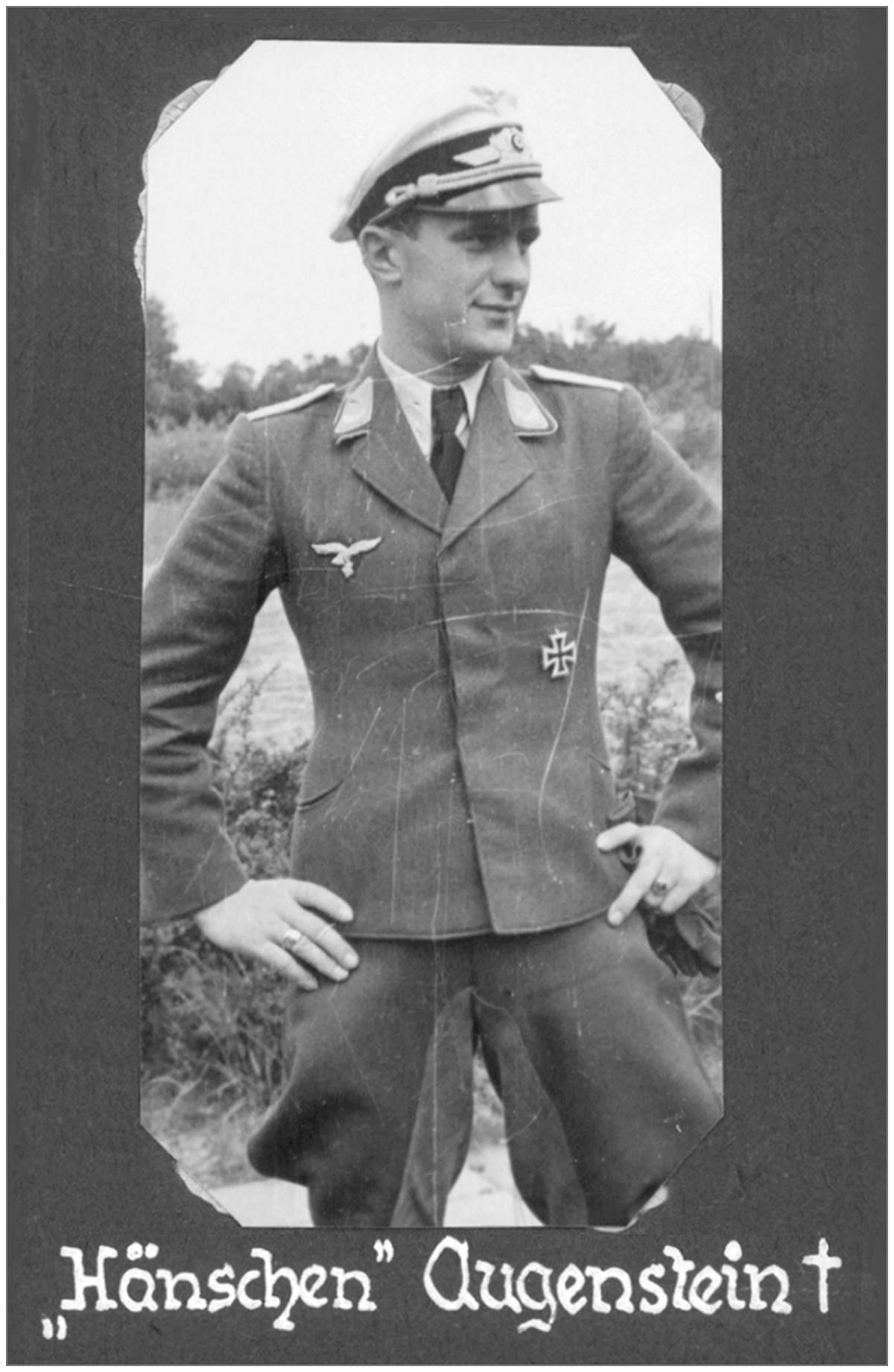 Lt. Hänschen Augenstein - from Rolf Ebhardt (former Night fighter pilot)