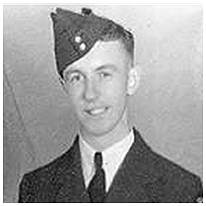 R/83874 - F/Sgt. - Captain/Pilot - Merrill George Bailey - RCAF - Age 22 - POW - interned in Camp 8B/344. POW No. 24941