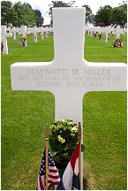 Headstone - Miller - Margraten, NL