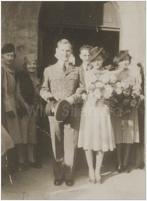 P/O. George Marshall McCombe - Wedding