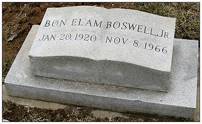 Memorial Bon Elam Boswell Jr.