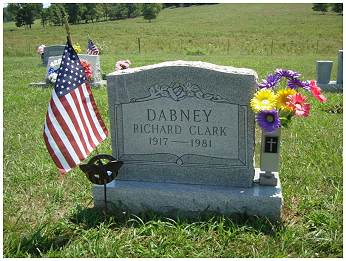 Memorial - Richard Clark Dabney