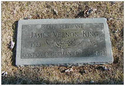 S/Sgt. James Vernon King - 1923 - 22 Dec 1943 - Memorial
