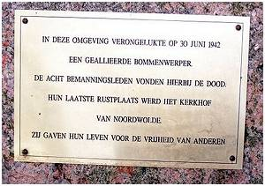 Memorial - text - Noordwolde