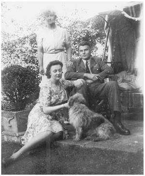 fiancée Molly Christopher, Aunt, Bill - 1940