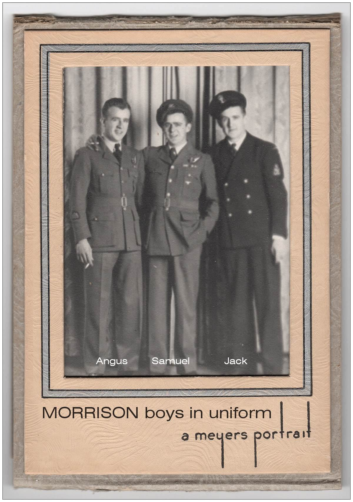 Morrison boys in uniform - photo 001