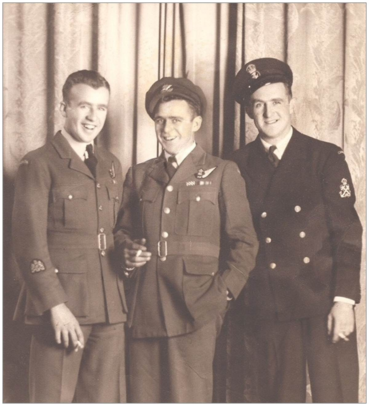 Morrison boys in uniform - photo 002