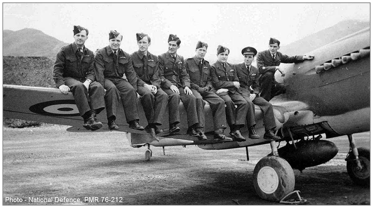 111 Squadron - Apr 1943 - Pilots at Kodiak, Alaska - PMR  76-212 - via Bill Eull