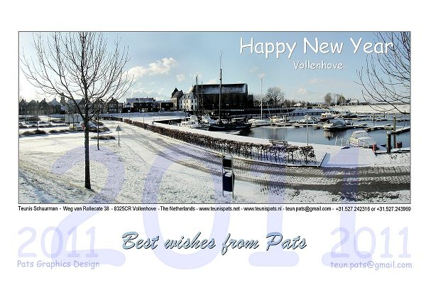 New Years Card - PATS - 2011