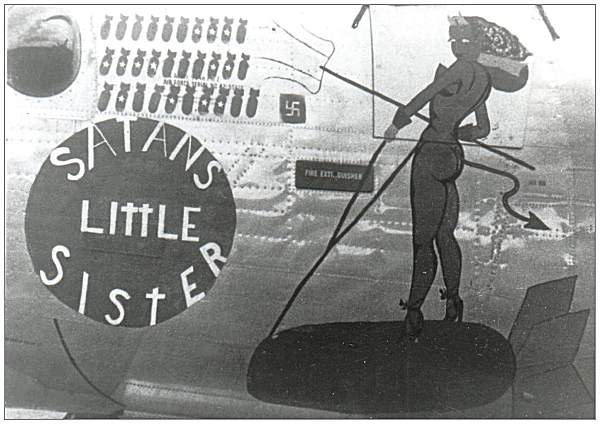 Nose Art - 'Satan's Little Sister'