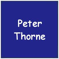 184358 - P/O. - Co-Pilot -  Peter Thorne - RAFVR - Age 22 - KIA