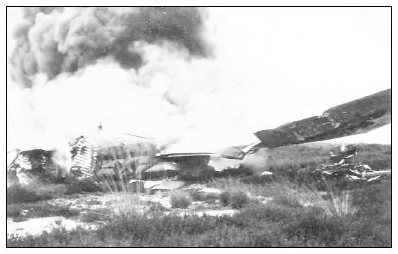 P-38-J - #42-104250 - crash - Oldebroek - May 44