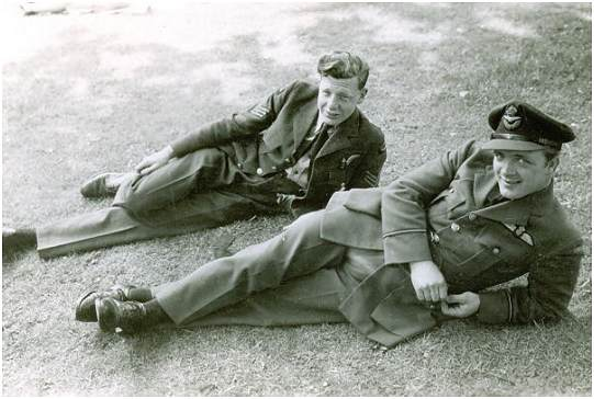 F/Sgt. Paul Anthony Crowley - F/O. Francis 'Frank' Joseph Crowley - RCAF