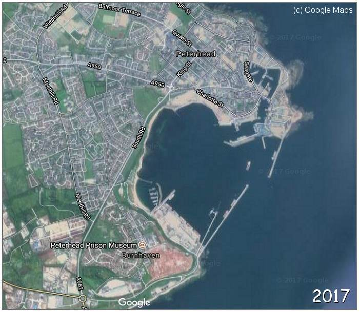 Peterhead Bay - 2017 - (c) Google Maps