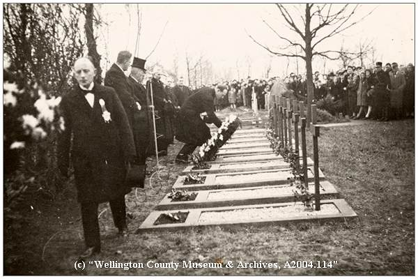 Memorial Ceremony at Workum Cemetery
