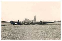 B-17G - 'SARA JANE' - #42-38161 at crash location