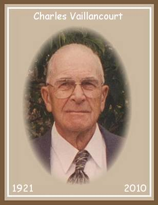 Charles Joseph Leonard Vaillancourt - obituary photo