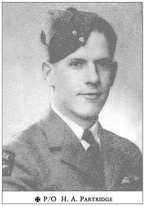 J/16966 - Pilot Officer - Pilot - Henry Albert Partridge - RCAF