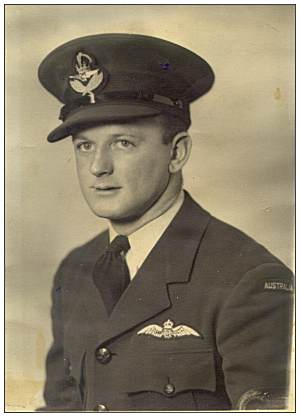 F/O. - William 'Bill' Alexander Greenshields - RAAF - via Schotman