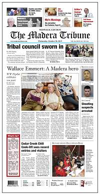 The Madera Tribune - 20 Oct 2015 - page A1