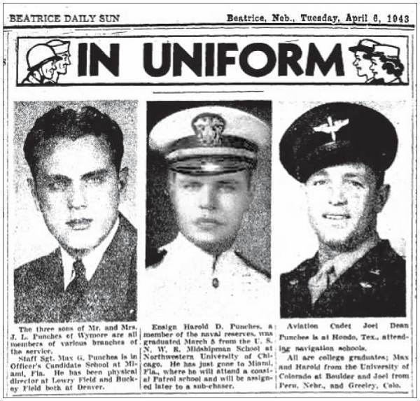 Punches in UNIFORM - 06 Apr 1943