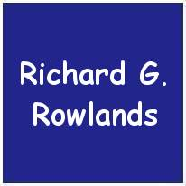 407728 - Flying Officer - Pilot - Richard Gerald Rowlands - RAAF - Age 25 - KIA