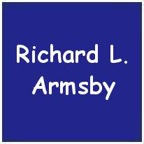 755284 - Flight Sergeant - Wireless Op. / Air Gunner - Richard Leonard Armsby - RAFVR - Age 25 - MIA