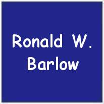 106537 - P/O. - Observer - Ronald William Barlow - RAFVR - Age 25 - KIA