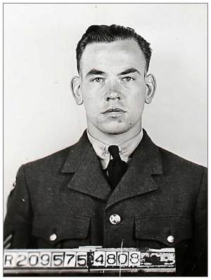 R/209575 - J/94593 - P/O.  - Flight Engineer - William Muir Sommerville - RCAF
