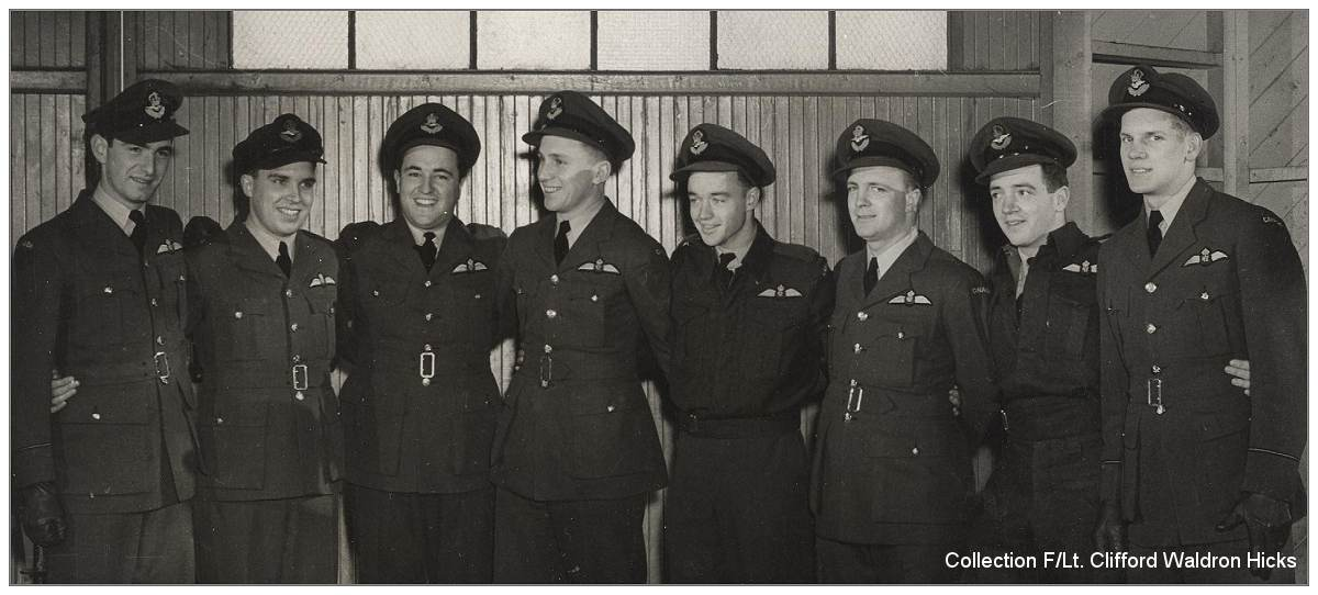 RCAF pilots - Collection - F/Lt. (Pilot) Clifford Waldron Hicks - via Bill Eull
