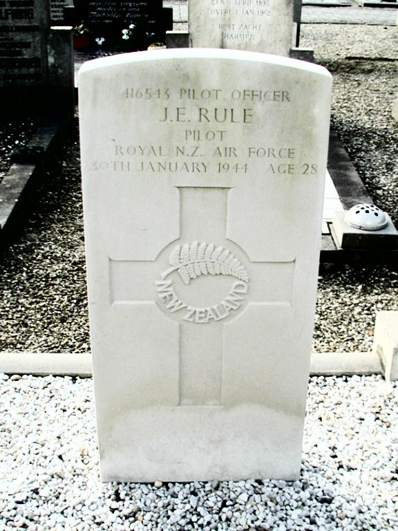 Headstone - John Edward Rule - Vollenhove