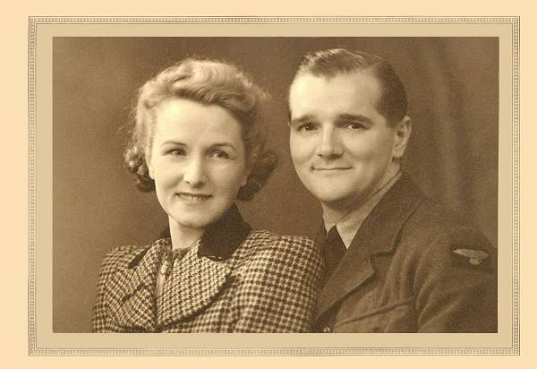 Sarah and Harry Lewis - September 1943