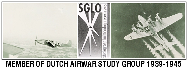 Member of Dutch Air War Study Group 1939-1945 - SGLO
