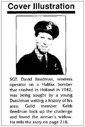 Sgt. David Readman - The Journal of One-Name Studies, April 1999