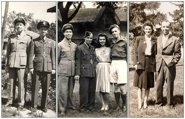 Sgt. Francis 'Frank' Otterson with relatives