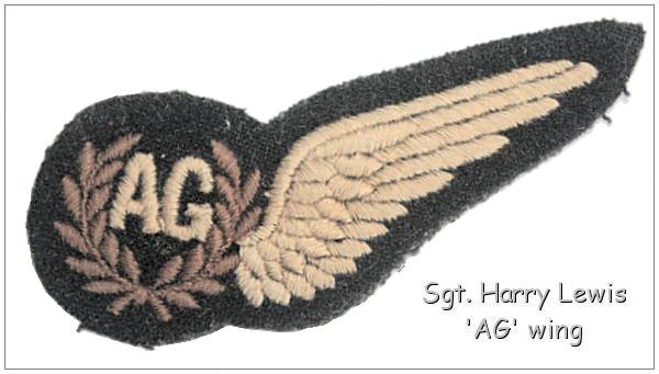 Sgt. Harry Lewis - 'AG' Wing