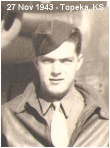 Sgt. John D. Graham - at Topeka, Kansas - 27 Nov 1943
