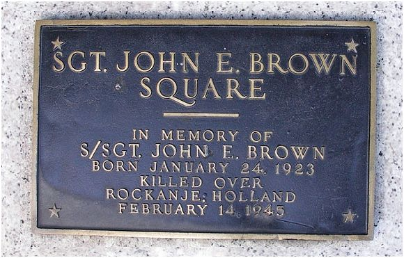 Memorial Square - S/Sgt. John E. Brown - Worcester, MA
