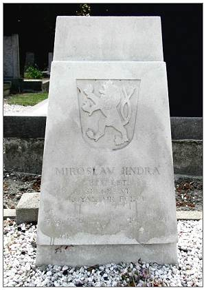 788021 - Sergeant - 2nd Pilot - Miroslav Jindra - headstone - 05 Mar 1916 - 20 Jul 1941