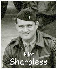 Sharpless as on crew photo - Dec 1943