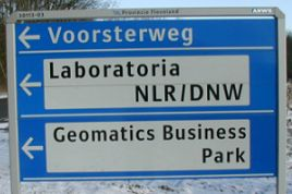 Road sign to office - No 'own' card made for 2008 - did send Charity cards -