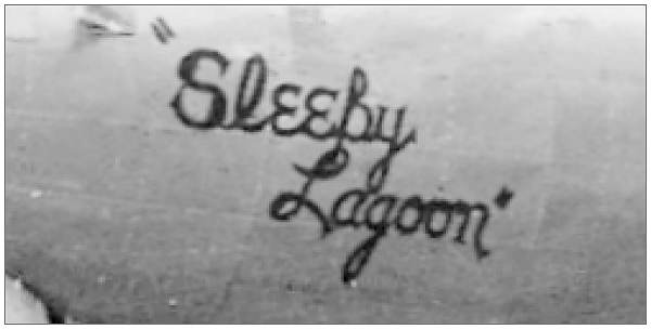 B-17G 'Sleepy Lagoon' - 46105 - Nose Art