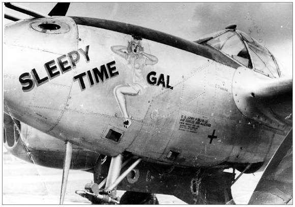 P-38J - 'Sleepy Time Gal' - #42-23169