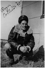 1943 - S/Sgt. Roger W. Collins - Tail Turret Gunner - via Richard Woolderink